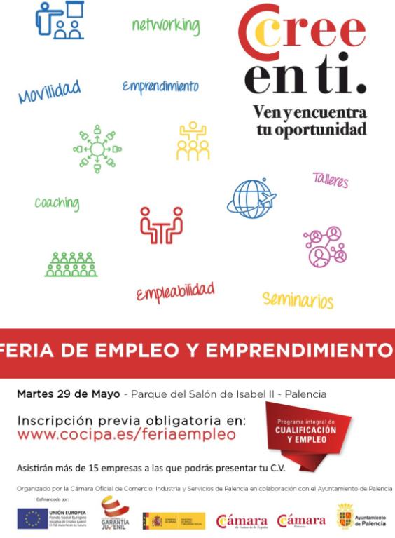 II Feria de Empleo y Emprendimiento de Palencia