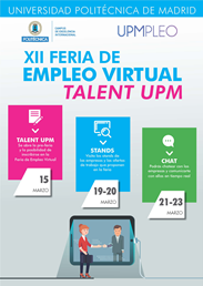 XII FERIA DE EMPLEO VIRTUAL TALENT UPM