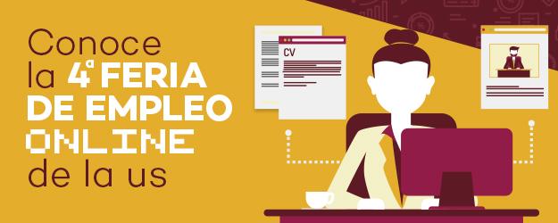 4ª Feria de Empleo Online de la Universidad de Sevilla