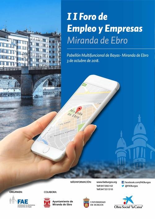 II Foro de Empleo y Empresas de Miranda de Ebro