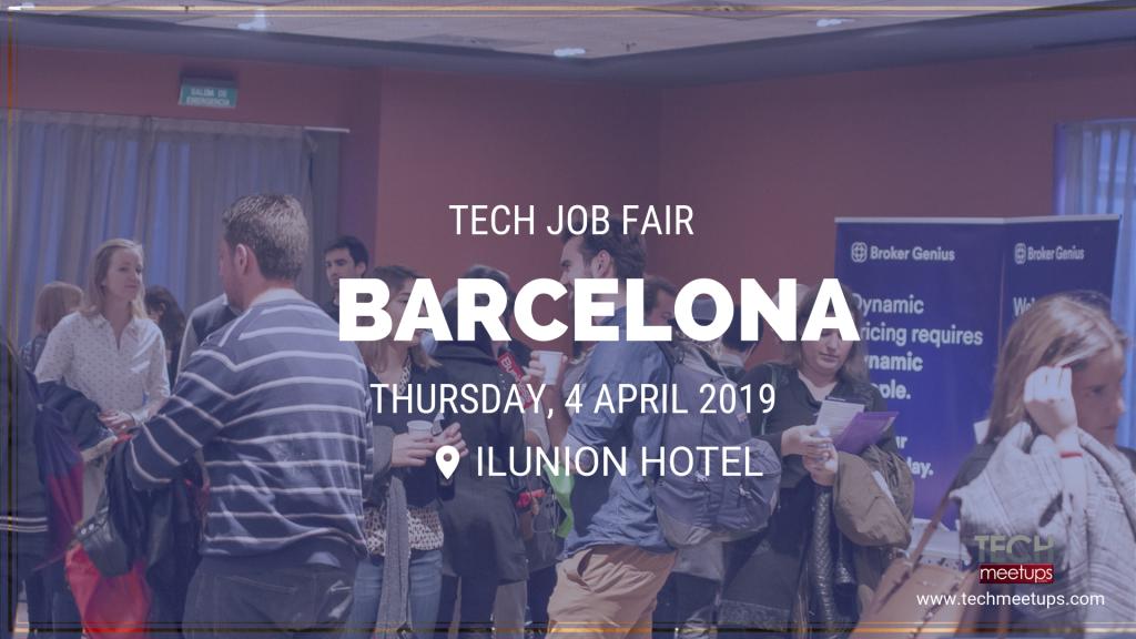 Barcelona tech job fair spring