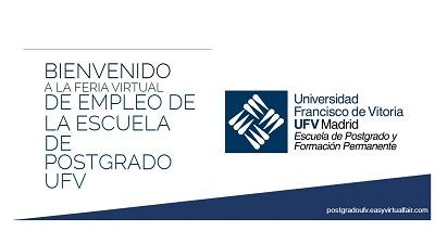 Feria Virtual de Empleo de Postgrado - UFV