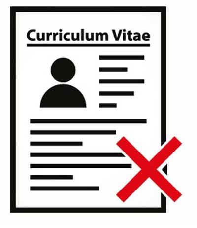 Típicos fallos en el Currículum