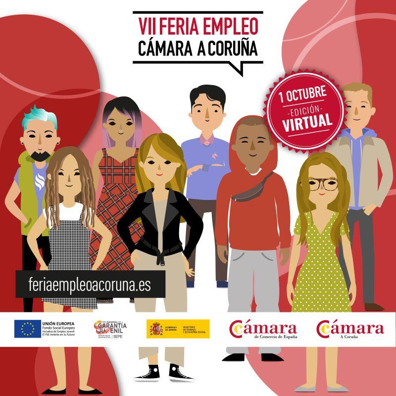 VII-Feria-de-empleo-virtual-de-la-Cámara-de-Comercio-A-Coruña