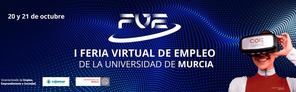 I Feria Virtual de Empleo de la Universidad de Murcia